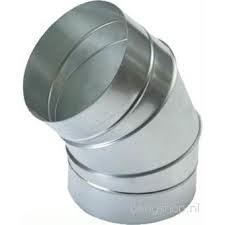 Spiralo segmentbocht 30°  Ø 500 mm