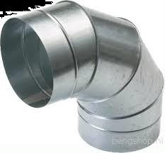 Spiralo segmentbocht 90°  Ø 500 mm