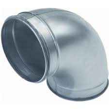Spiralo gladde bocht 90°  Ø 180 mm