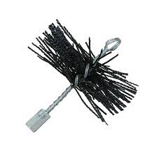 Schoorsteenveeg staalborstel rond Ø 125 mm