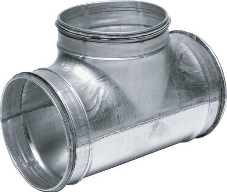 Spiralo geperst T-stuk 90° Ø 200 mm spruit 200 mm SAFE