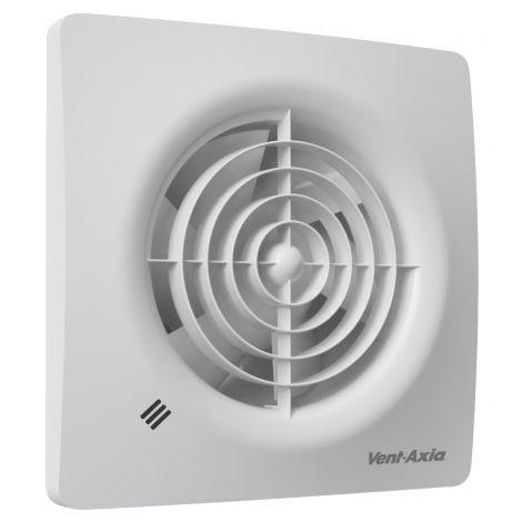 Badkamerventilator Supra Ø 100 mm met Bewegingssensor en instelbare Timer