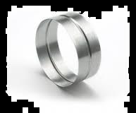 Spiralo verbindingsstuk t.b.v. hulpstuk Ø 125 mm