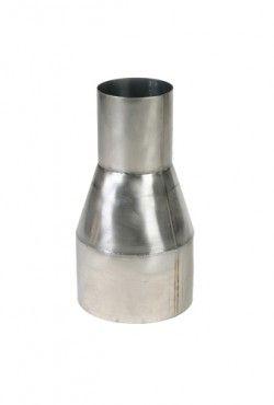 Blank RVS verloop Ø 130 - 150 mm