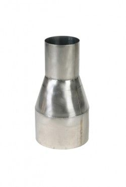 Blank RVS verloop Ø 130 - 200 mm