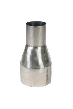 Blank RVS verloop Ø 80 - 150 mm